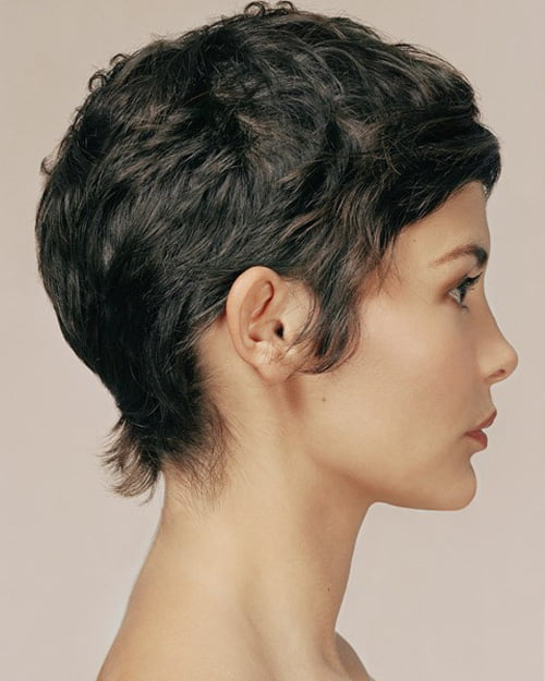 Audrey Tautou short hair pictures