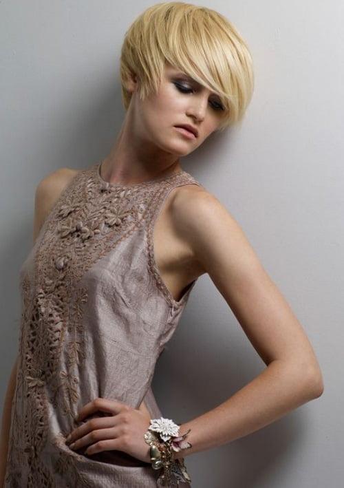 Latest Popular Feminine Short Hairstyles