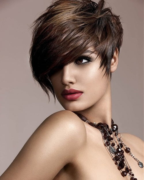If you have a fine and thin hair, short haircut should be your choice