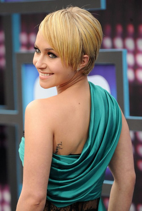 Hayden Panettiere Short Straight Cut