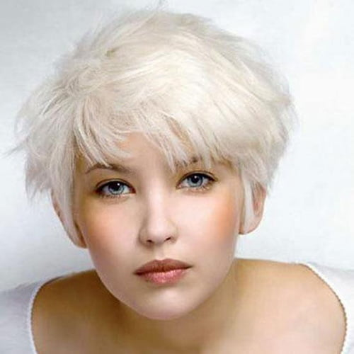 Cute 2013 short hairstyles for blonde hair