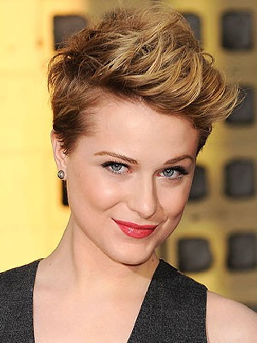 Evan Rachel Wood's Six Tips for Styling Short Hair