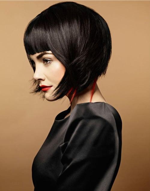 Creative Bob Haircuts 2012 For Women