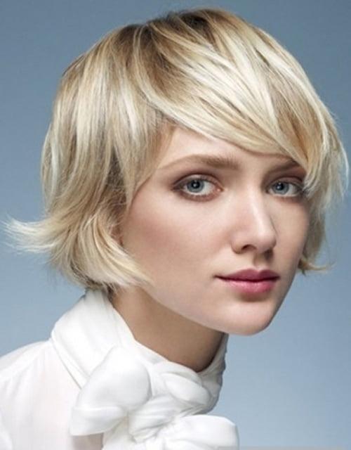 Modern Short Bob Haircut Styles 2012