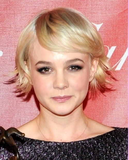 Carey Mulligan Short Blonde Haircut
