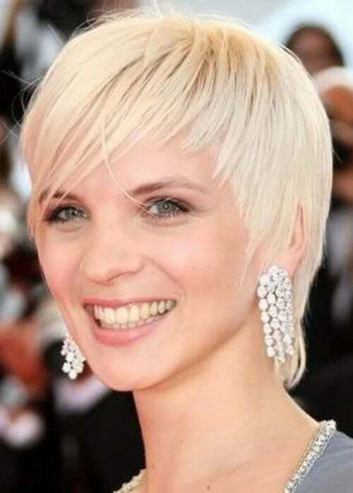 hair styles for short haired blondes