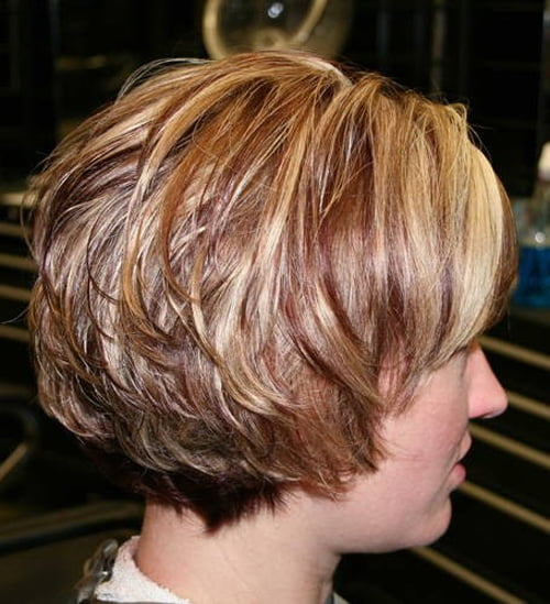 Best Stacked Short Bob Hairstyles Pictures