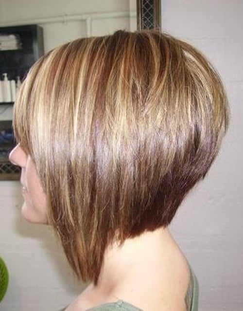 Its a nice bob layered hair cut with asymmetric style