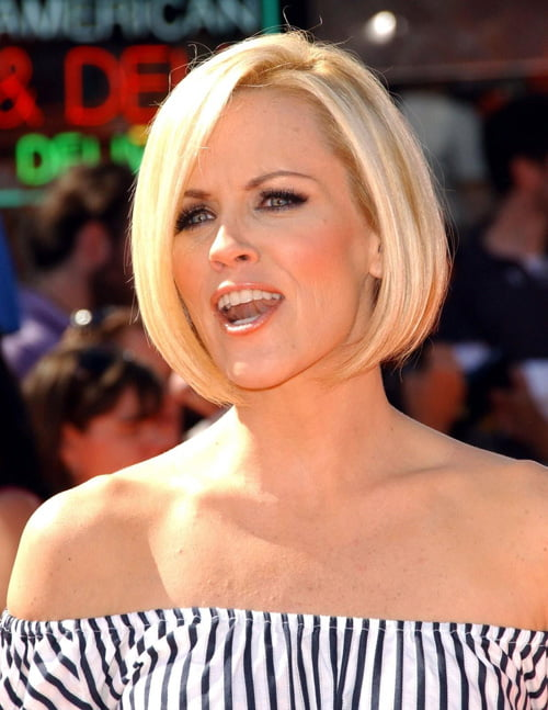 The classic bob hairstyle is still popular.