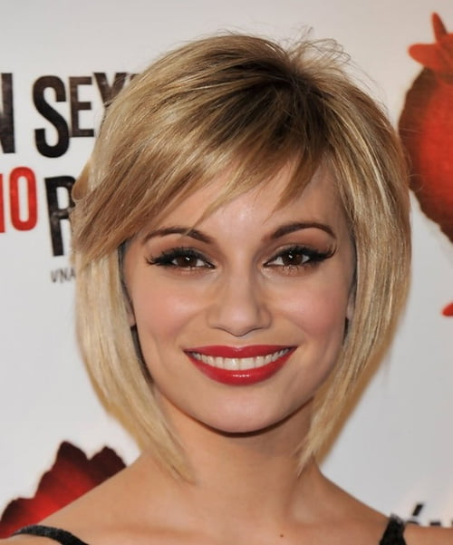 Cute short bob haircut from Norma Ruiz
