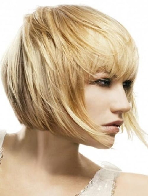 Modern Short Bob Haircut from Vidal Sassoon