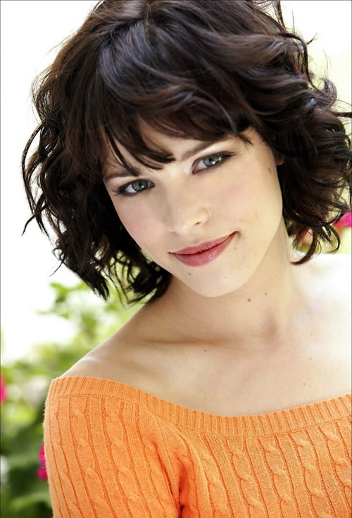 Rachel Mcadams short wavy hairstyle