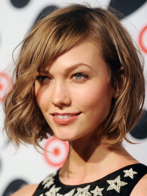 Short bob haircut for women from karlie kloss