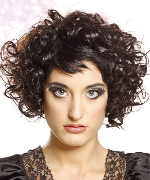 Short Naturally Curly Hairstyles Women