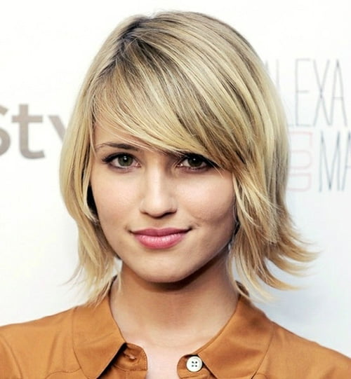 Short Shaggy Bob Haircuts for Women from Dianna Agron