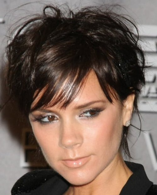 Short black wavy hairstyles 2012