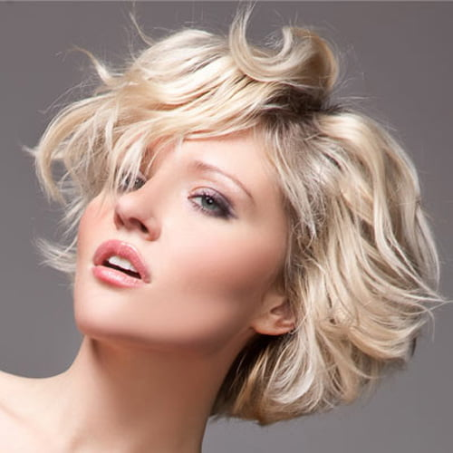 Short Wavy Hairstyles for Thick Hair 2012