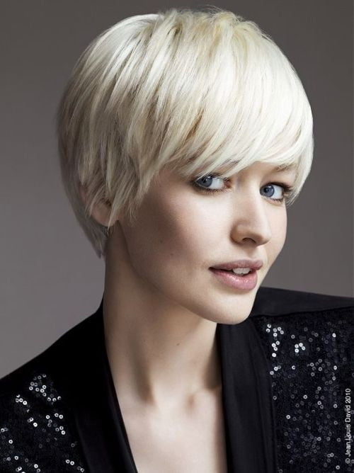 2013 Trends Short Blonde Hair