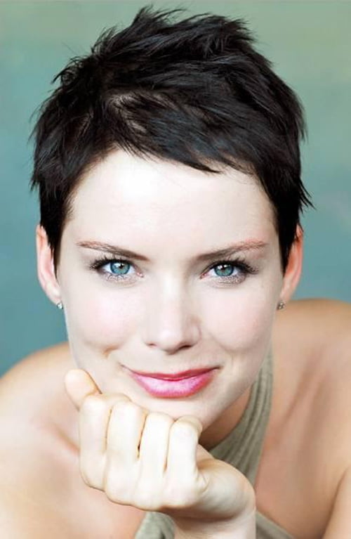 Very Short Hairstyles for Super Simple Women