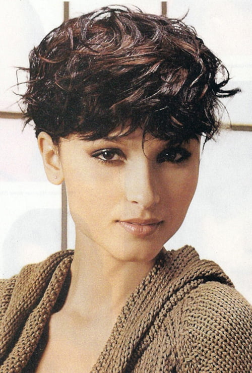 Superb Short Wavy Haircuts For Women 2012 2013 Short Hairstyles 2016 Hairstyles For Women Draintrainus
