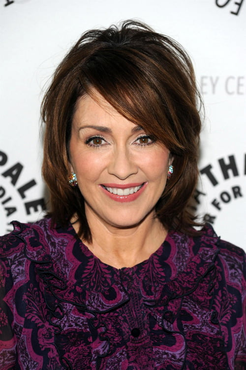 Short bob hairstyle for women over 50s from Patricia Heaton