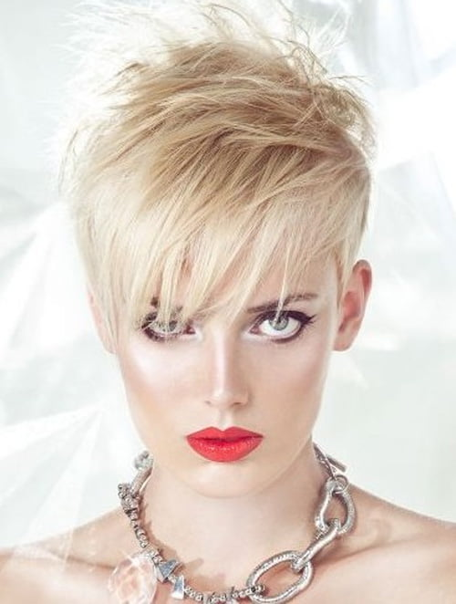2012 Short Haircuts for Women in Pixie and Short Shaggy