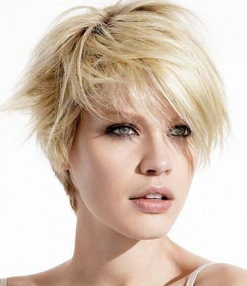 Cute asymmetrical short haircuts