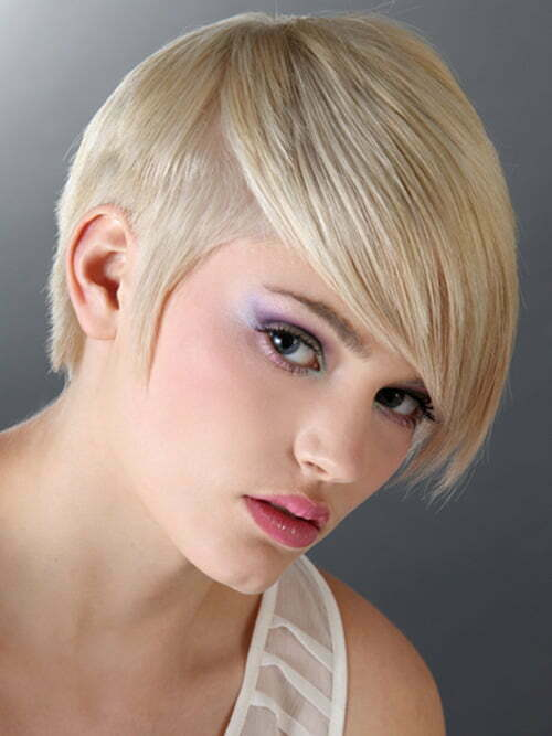Short hair trends autumn winter 2012