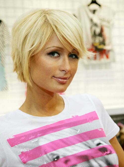 Pictures of short bob haircuts with bangs