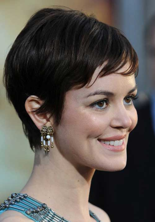 Celebrities with pixie cuts 2012