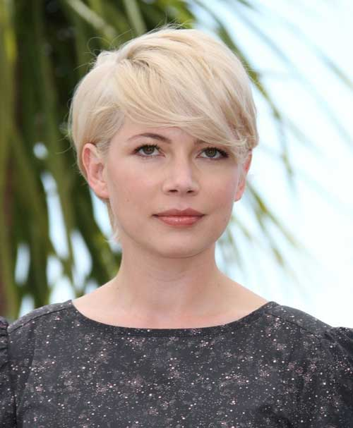 Celebrity Short Blonde Haircuts 2012 for Women