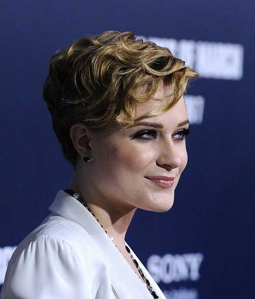 Celebrity Short Wavy Curly Hairstyles