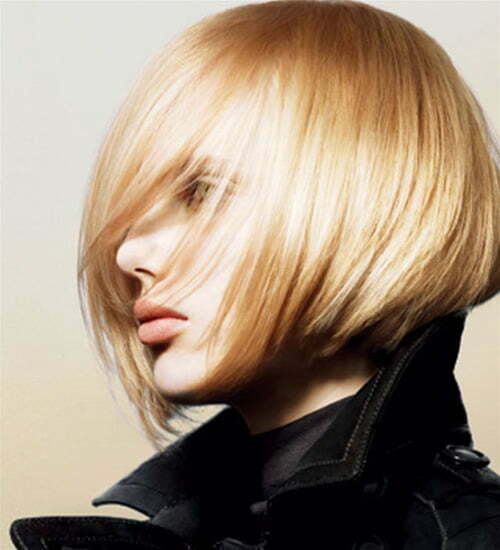 Chic short bob haircut for girls