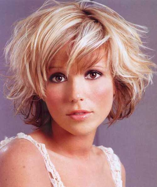 Short Haircuts for Wavy Hair Short Hairstyles 2016 2017