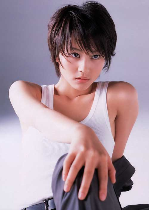 Cute Short Japanese Hairstyles for Girls