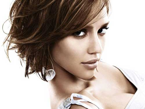 Short Choppy Brunette Hairstyles