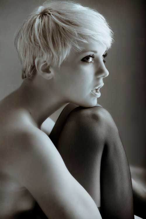 Cute short pixie haircuts 2012
