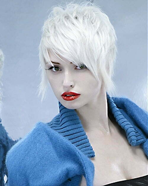 2014 Short Funky Hairstyles for Women