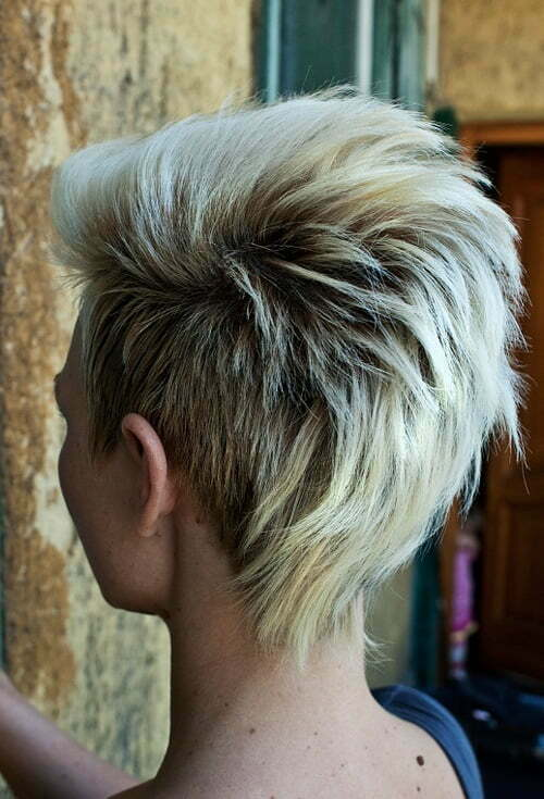 Punk hairstyles for girls with short hair