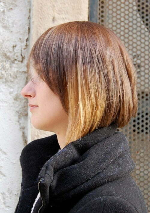 Ombre colored short hairs will be trend in 2013 and you won't want to miss this trend.