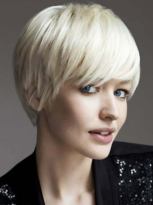 Women's Short Hairstyles with Bangs