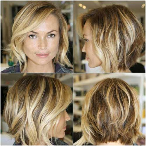 Short Length Layered Bob Hairstyles