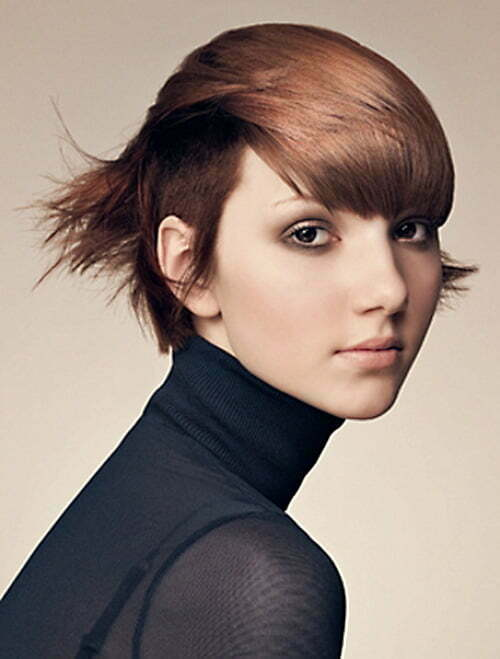 Trendy Short Layered Haircuts for Women 2013