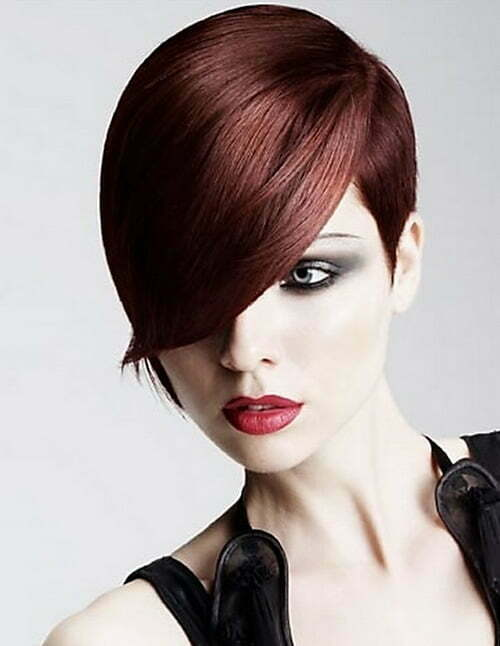 Womens haircuts 2017: Short bangs |Ladies Short Hairstyles With Bangs