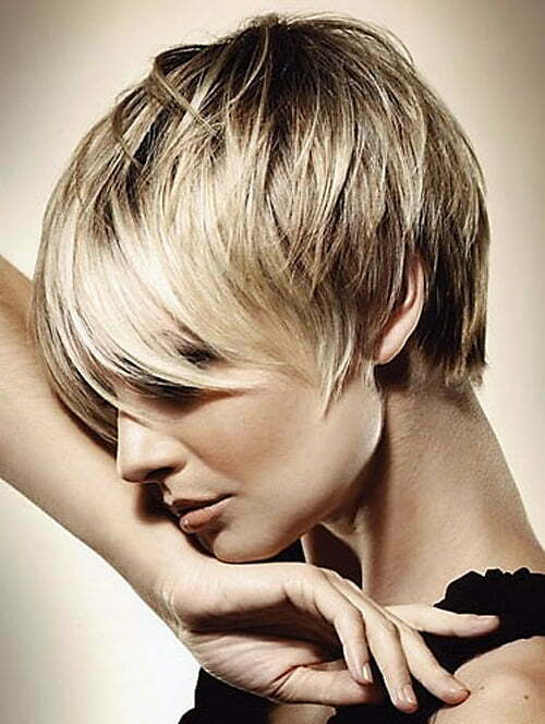 Super Very Short Haircuts With Bangs For Women Short Hairstyles 2016 Short Hairstyles Gunalazisus