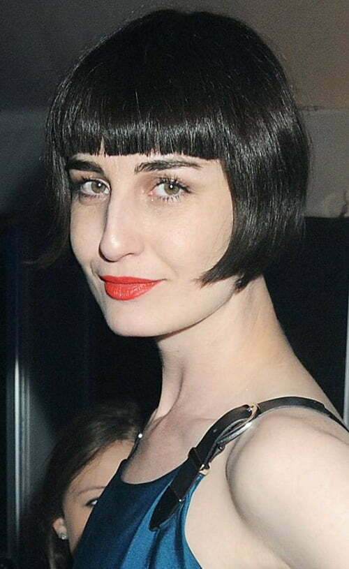 Excellent Very Short Haircuts With Bangs For Women Short Hairstyles 2016 Short Hairstyles Gunalazisus