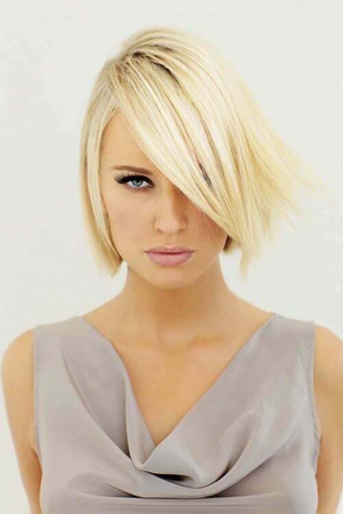 Modern layered bob haircuts with bangs for 2013