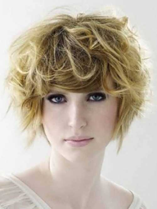 Casual hairstyles for short wavy hair