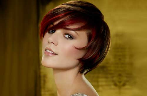 Cute short choppy brunette hairstyles