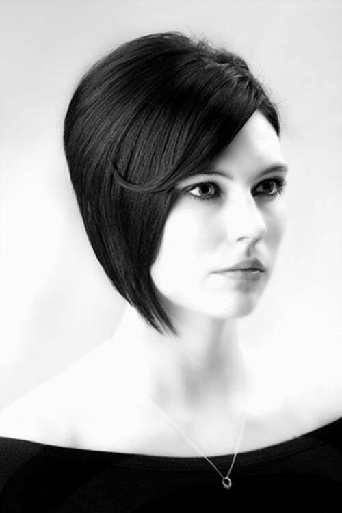Short choppy layered bob haircuts 2012